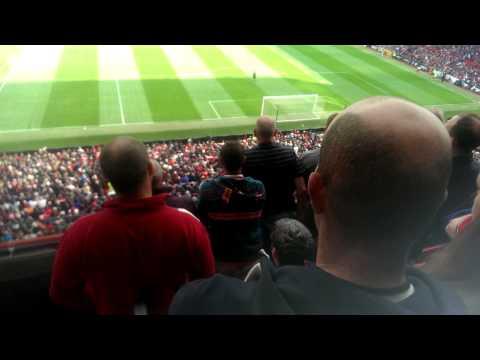 Radamel falcao song, goal reaction MUFC v Everton