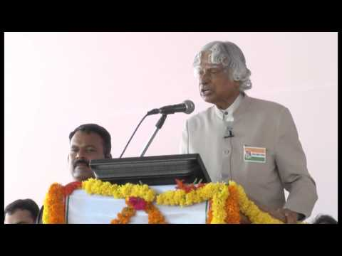 Lead India 2020 - APJ Abdul Kalam Speaks at Lead India 2020 Bharat Ratnas School Launch - Part -4