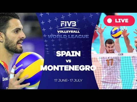 Spain v Montenegro - Group 3: 2016 FIVB Volleyball World League