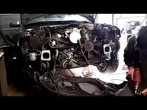 01 Audi A4 Quattro Waterpump Replacement Time Lapse 1 2