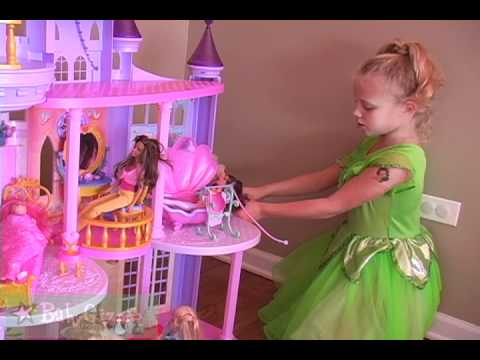 Baby Gizmo Disney Princess Ultimate Dream Castle Review Youtube
