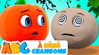 Cinq Fruits Drôles | Comptines Et Chansons | À Bébé Chanson