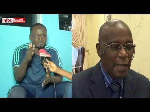 "Alioune Mbaye descend en flamme Kessy Bousso (Dir. Grand Théâtre) ""Mo yakh Salle bi"""