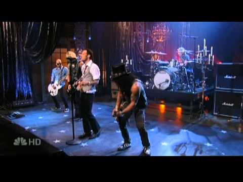 Velvet Revolver: &quot;She Builds Quick Machines&quot; (live Jay Leno Show 2007)