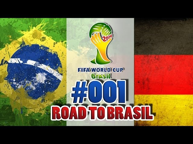 FIFA World Cup 2014 [DEUTSCH] - Lets Play #001 - Fussball Weltmeisterschaft