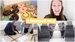 A Weekend Vlog - New Merseyrail Trains, Dunkin Donuts & Shopping