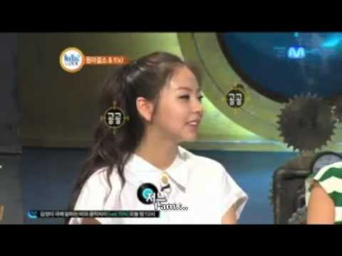 Wonder Girls Funny Clip #312: Sohee Ranks Her Appearance