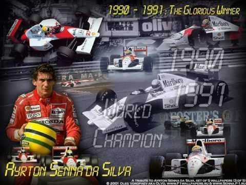 "Jeroen v Inkel's ""The Ayrton Senna Tribute"" inlc. Karla Bonoff - Goodbye My Friend"