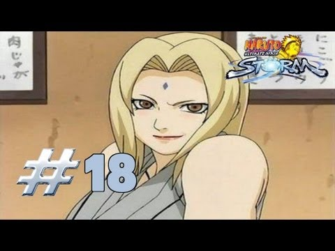 Naruto: Ultimate Ninja Storm - Walkthrough Part 18 Meeting Lady Tsunade