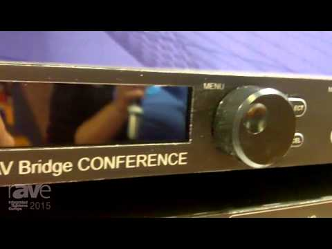 ISE 2015: Vaddio Features AV Bridge CONFERENCE