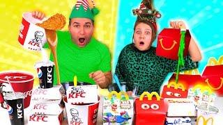 Don't Choose the Wrong KFC VS McDonald's SLIME CHALLENGE!!!