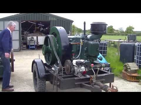 Big Blackstone Engine Start Up!