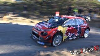 Test Monte Carlo 2019 | Sébastien Ogier | Citroën C3 WRC [Day3]