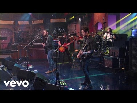 Kings Of Leon - Dont Matter (Live on Letterman)