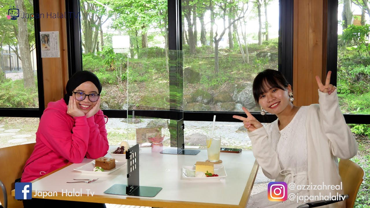 Enjoy the day, visiting Nice and Cool Cafe in Japan. Inside the forest???