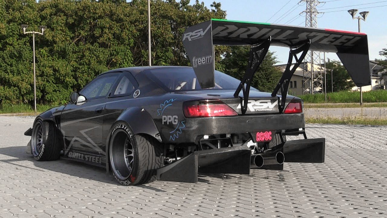 The Demon On 4 Wheels Brill Steel Carbon V8 S14 5