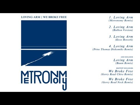 Metronomy – We Broke Free (Gerry Read Chive Remix)