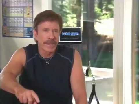 Chuck Norris - Get in shape with Total Gym #6