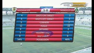 Tanzania U-20 1- 0 Morocco U-20 (18/03/2018) : FULL HIGHLIGHTS