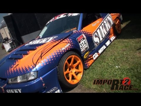 SIKKY Nissan S13.4 Drifting by Dan Rapper at East Coast Bash.
