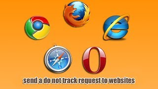 send a do not track request to websites