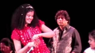 Palak Muchhal /Prem Ratan....Live ...NY...7/30/16