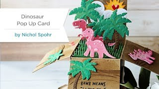 Die D-Lites Inspiration | Dinosaur Pop Up Card