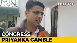 On Priyanka Gandhi Vadra Joining Active Politics, Sachin Pilot Reacts