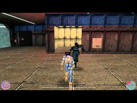 Oni PC (2001) modded gamplay - Syndicate Warehouse (720p) HD