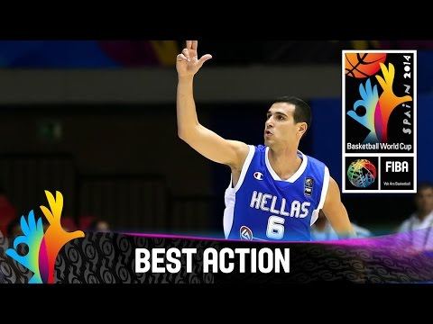 Puerto Rico v Greece - Best Action - 2014 FIBA Basketball World Cup