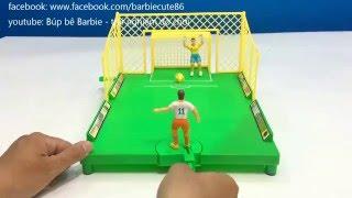 trải nghiệm đồ chơi trẻ em đá banh dành cho 2 người vlog 73