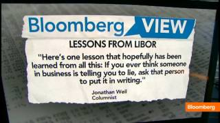 The Must Read: CEOs on U.S. Debt, Libor Lessons
