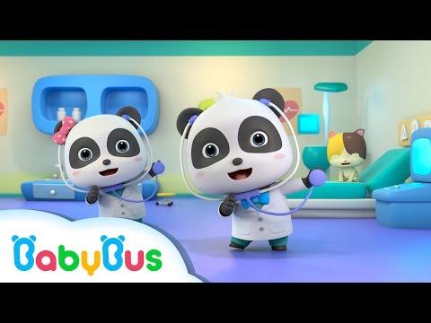 건강검진을 받아요 팬더의사 직업역할놀이 동요 베이비버스 창작동요 어린이 인기노래