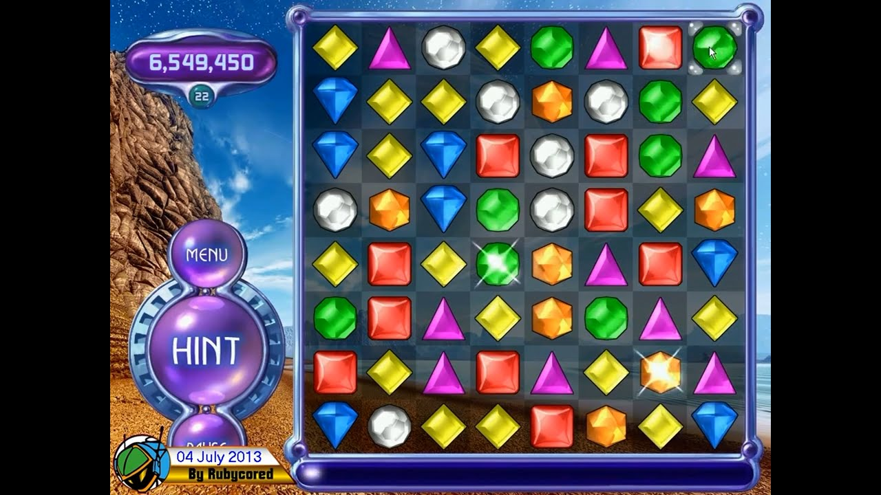 bejeweled 2 action
