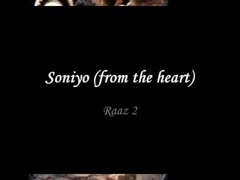 Soniyo from the heart   raaz 2   full...