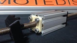 40x40 Iglidur LeadNut with 40x40 Profile I-Type Slot5