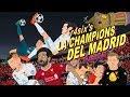 Parodia animada de la Champions del Real Madrid