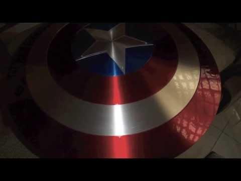 Captain America Shield Replica Project