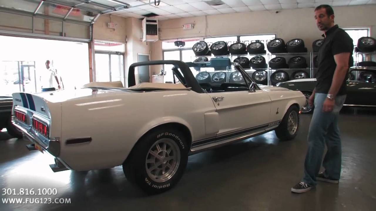 1968 Ford Shelby Mustang Gt350 Convertible For Sale