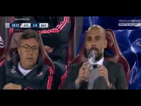 Saul Niguez amazing Solo Goal  - Atletico Madrid vs Bayern Munich 2016