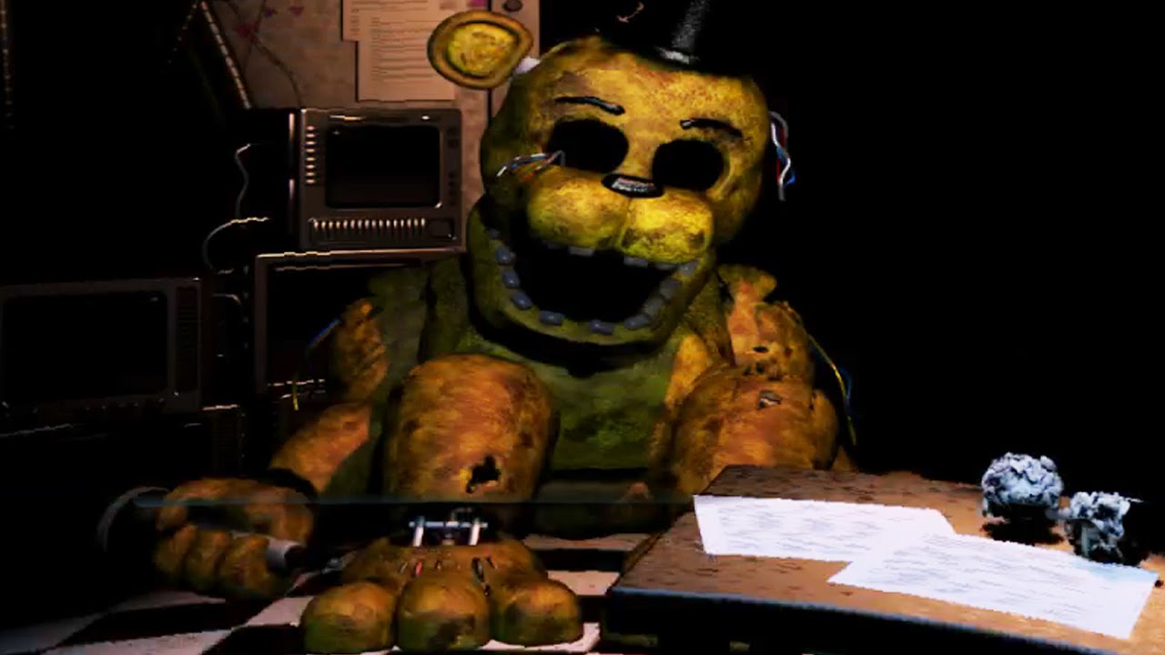 Five nights at freddy s 2 night 6 golden freddy survived youtube