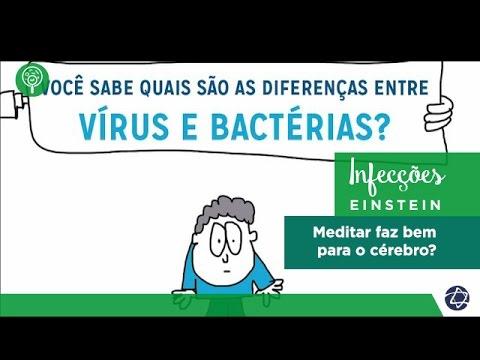 Vídeo - Vírus x bactérias: quais são as diferenças?