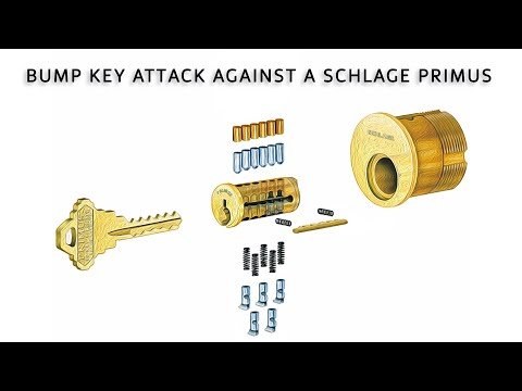 Bump Key Attack on Schlage Primus