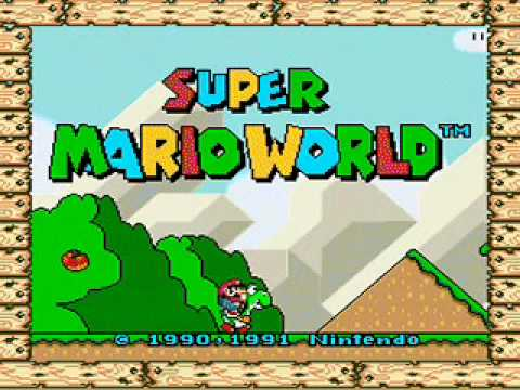 Just Super Mario World in game music, no video.<br /> <br /> NOTE: By &quot;FULL&quot; I mean the song essentially loops i
