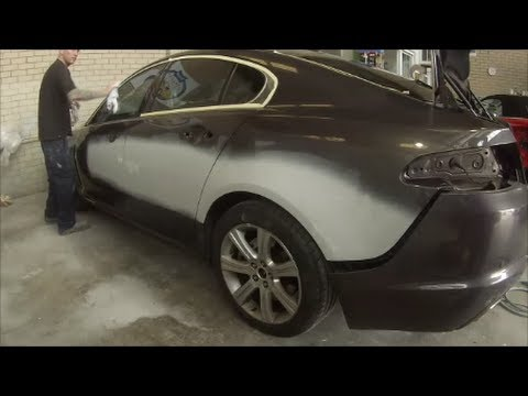 How to Prepare a Car for Paintwork