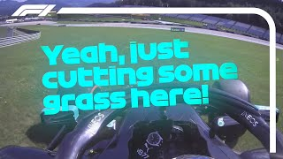 'Just Cutting Some Grass' Valtteri Bottas Reacts To Pole | 2020 Austrian Grand Prix