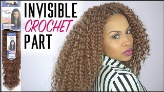 Crochet Braids w/Invisible Part - Step by Step Tutorial - Freetress Aruba Curl by SamsBeauty