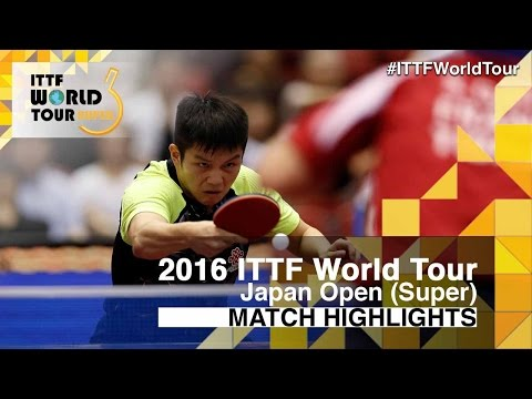 2016 Japan Open Highlights: Fan Zhendong vs Simon Gauzy (1/4)