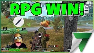 ROCKET LAUNCHER  KILL FOR THE WIN?! OMG!! | Rules of Survival
