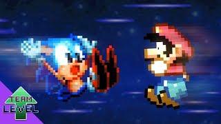 Mario and Sonic's Power-Up swap Calamity